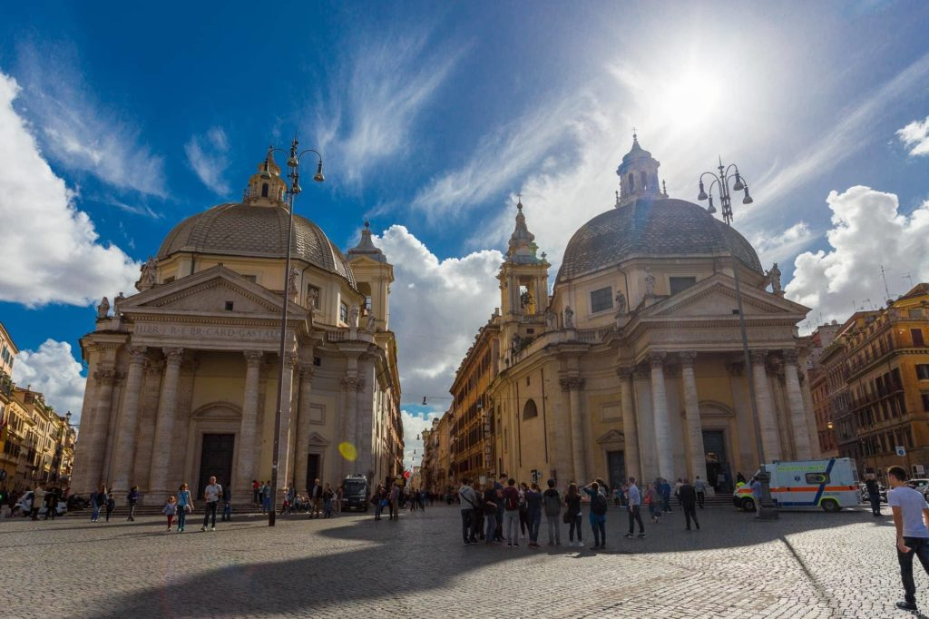 2 days in Rome - Piazza Popolo Rome