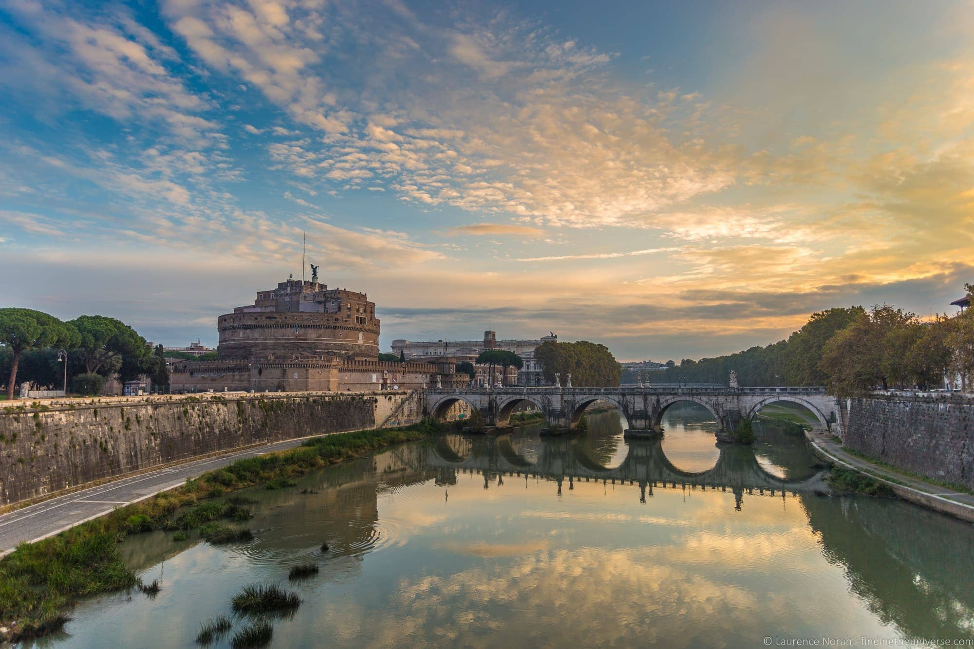 2 days in Rome - Sunrise castell d angelo rome