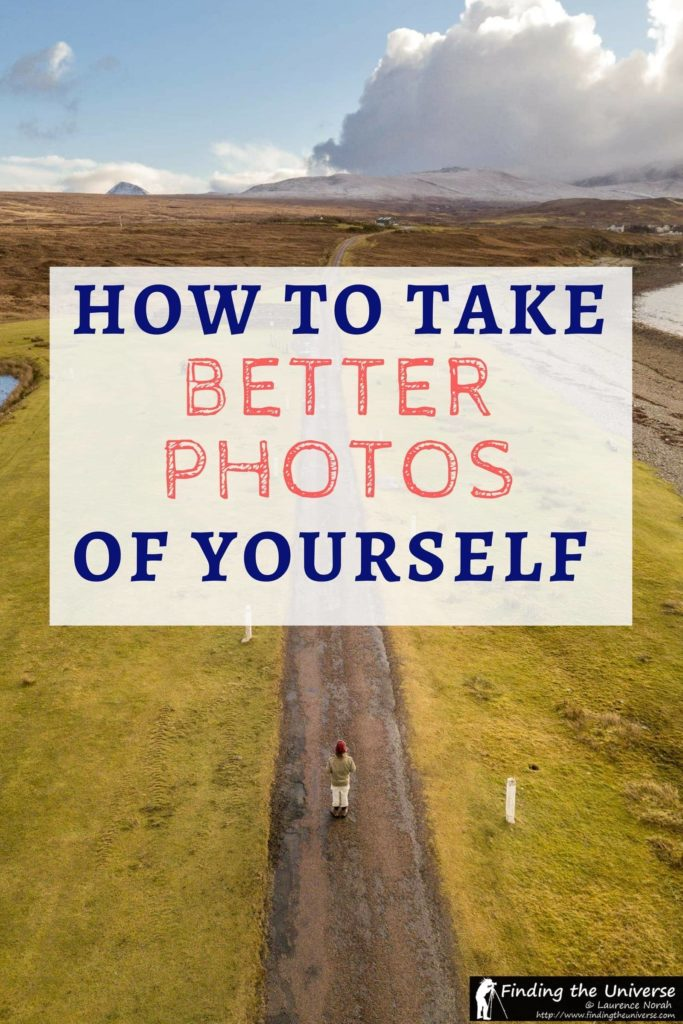 Wondering how to take good pictures of yourself? This post has detailed tips and advice on getting better photos of you. As well as going through the various options you have for taking pictures of yourself, be that on your travels or more generally, it also has tips for getting better photos of yourself!