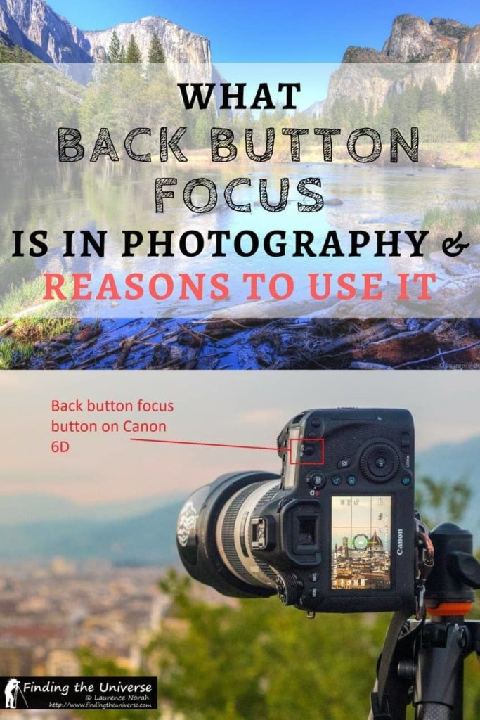 Everything you ever wanted to know about back button focus in photography, including what it is, why you would want to use back button focus, disadvantages, and tips for setting up your camera for back button focus!