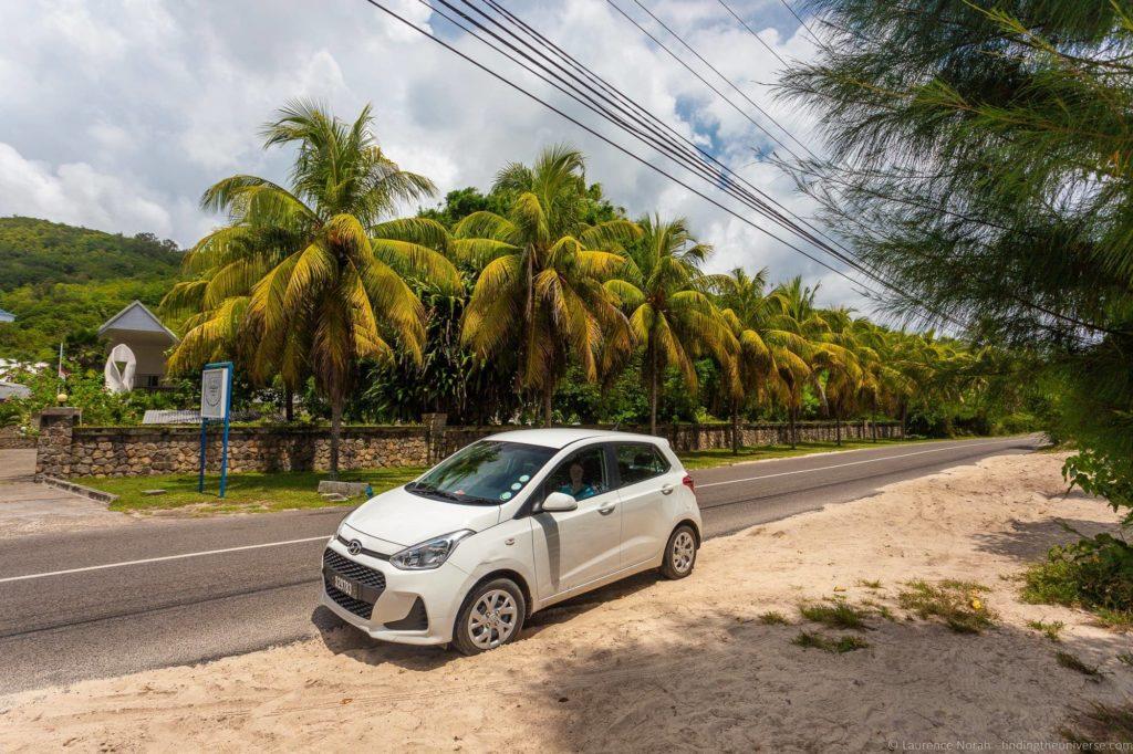 Hire car seychelles