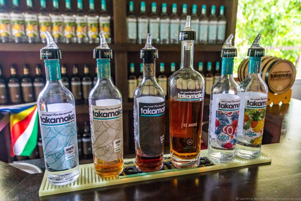 Takamaka Rum Distillery
