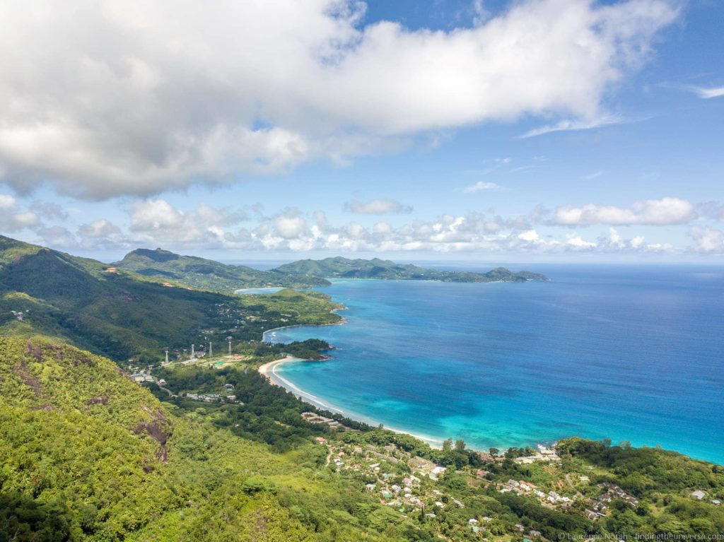Tea plantation Mahe Seychelles