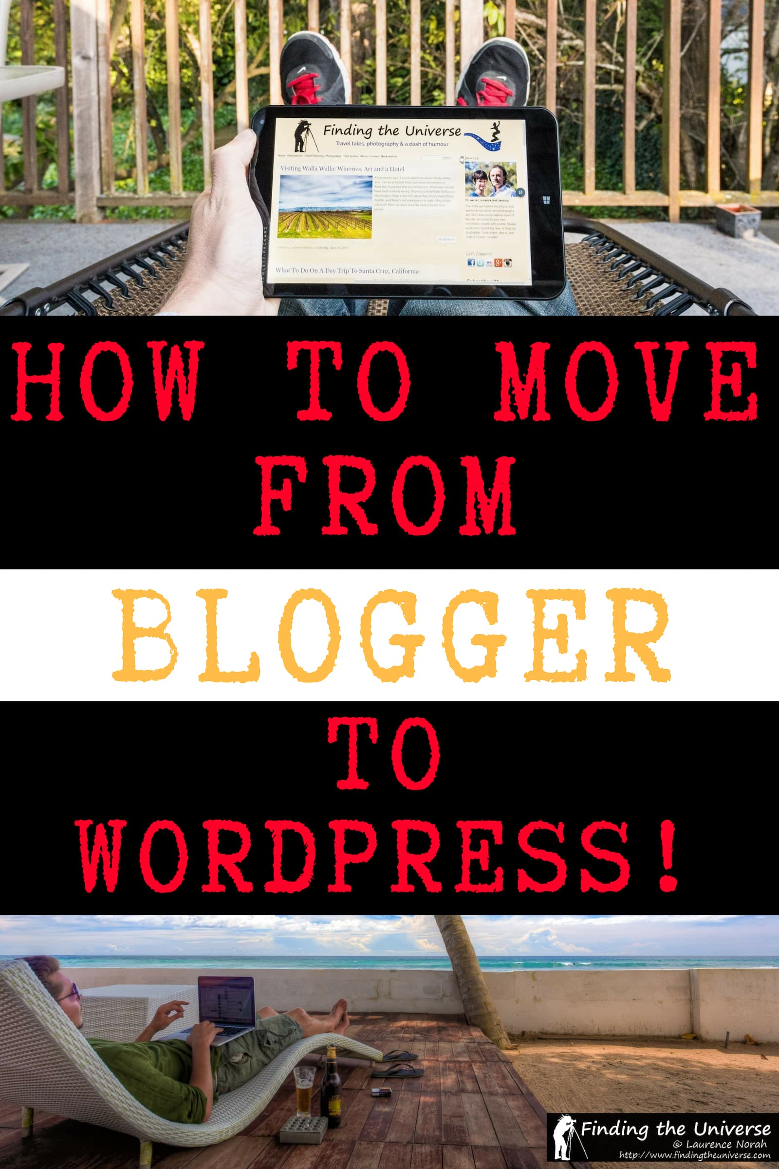 Detailed tips and things to watch out for when moving from Blogger to WordPress, including reasons why you might want to migrate from Blogger to WordPress, and everything you need to be aware of when making the move yourself!