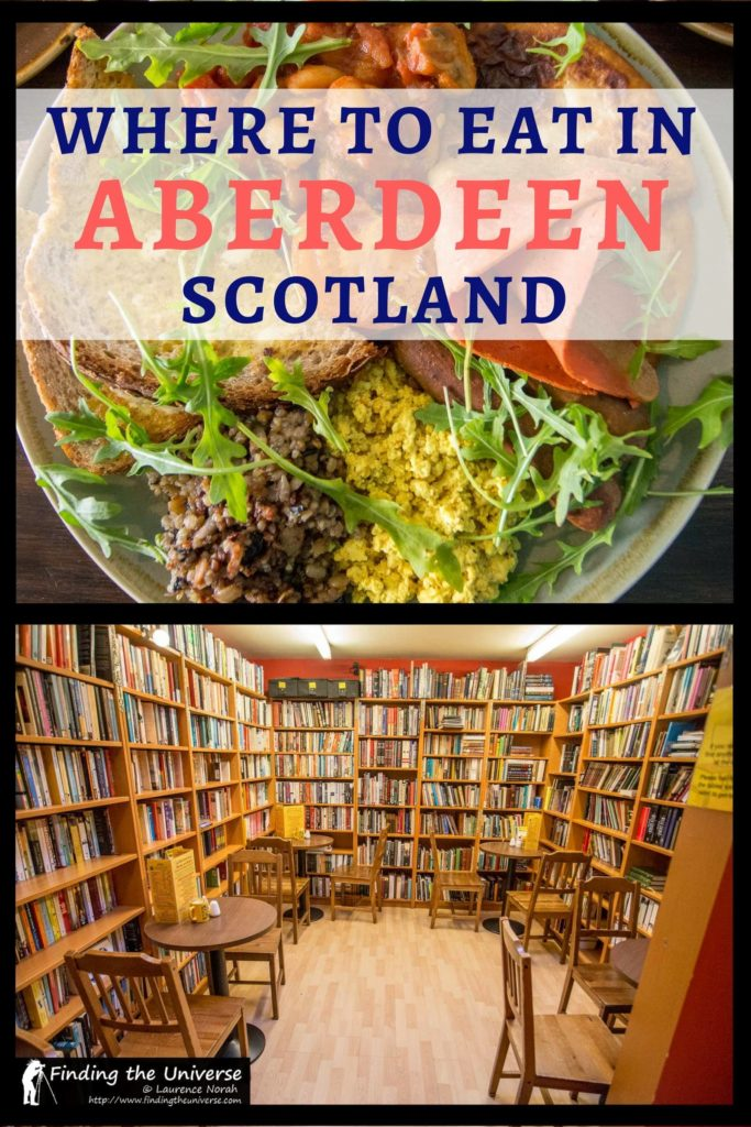 Full guide to the best Aberdeen restaurants, cafes and bars where you can get a great meal in this vibrant Scottish city!
