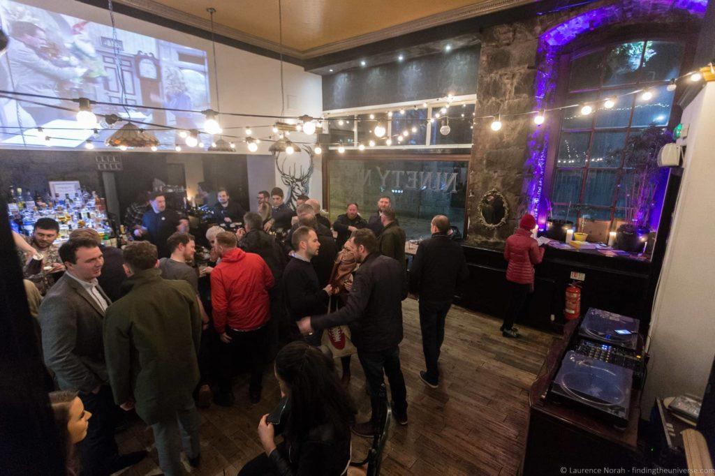 Ninety Nine Bar in Aberdeen