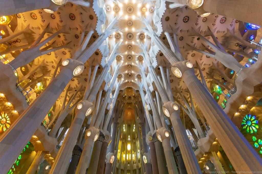 Barcelona Sagrada Familia Interior