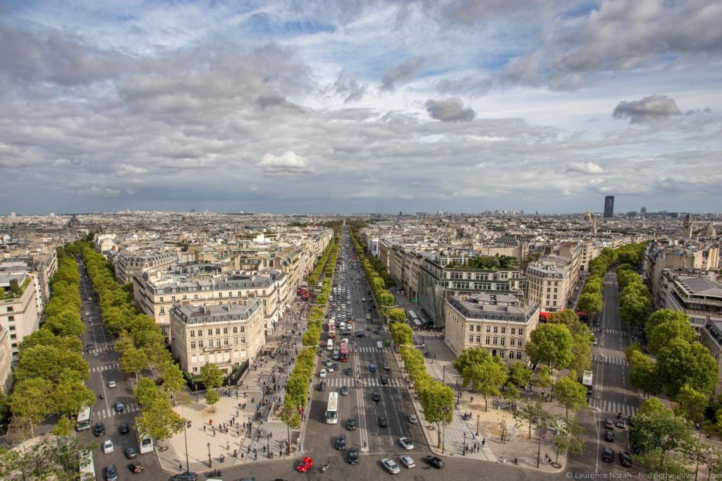 A day in Paris - Champs Elysees