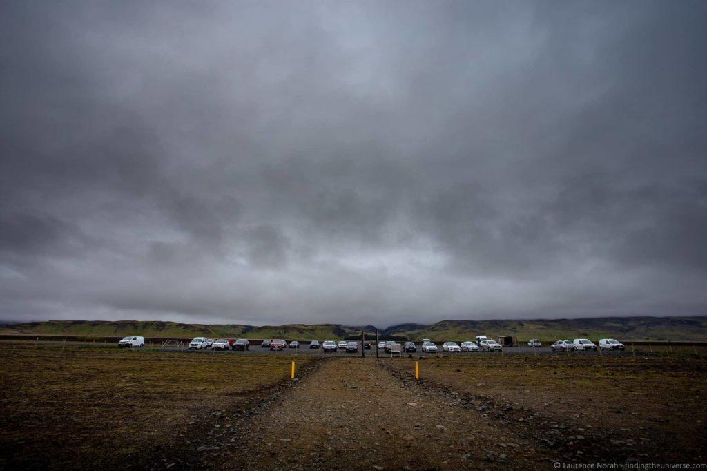 Iceland Crashed Plane Wreck Sólheimasandur Parking Lot