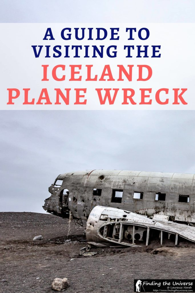 A detailed guide to finding the Iceland plane crash - the wreck of a DC-3 on a black sand beach in Iceland. Has everything from getting to the plane wreck through to accommodation options and photography advice!