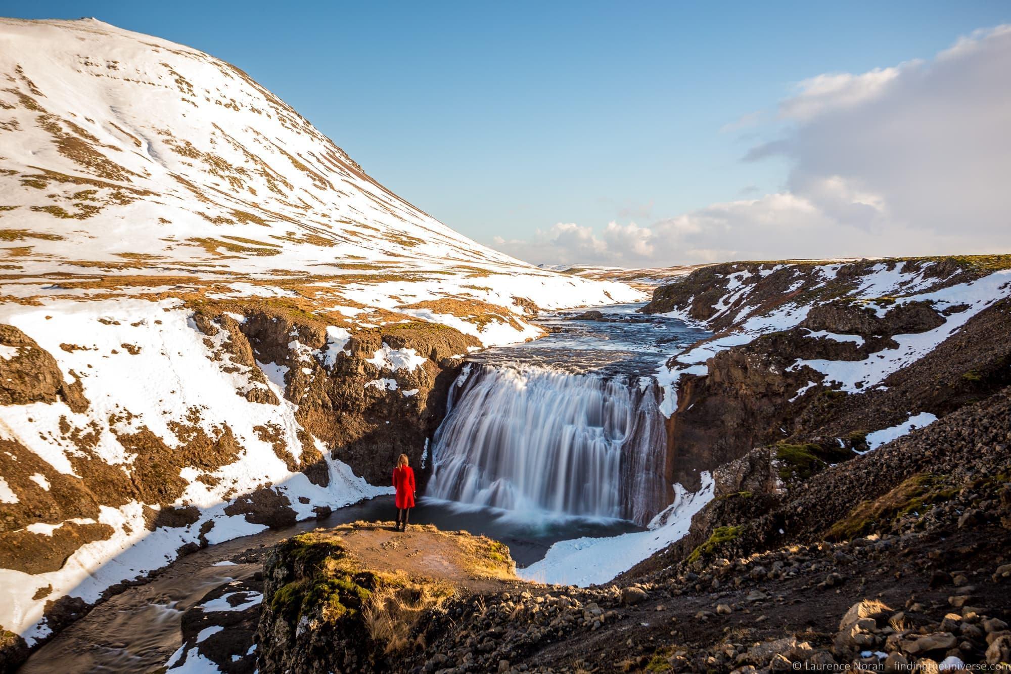 Þórufoss Waterfall Iceland