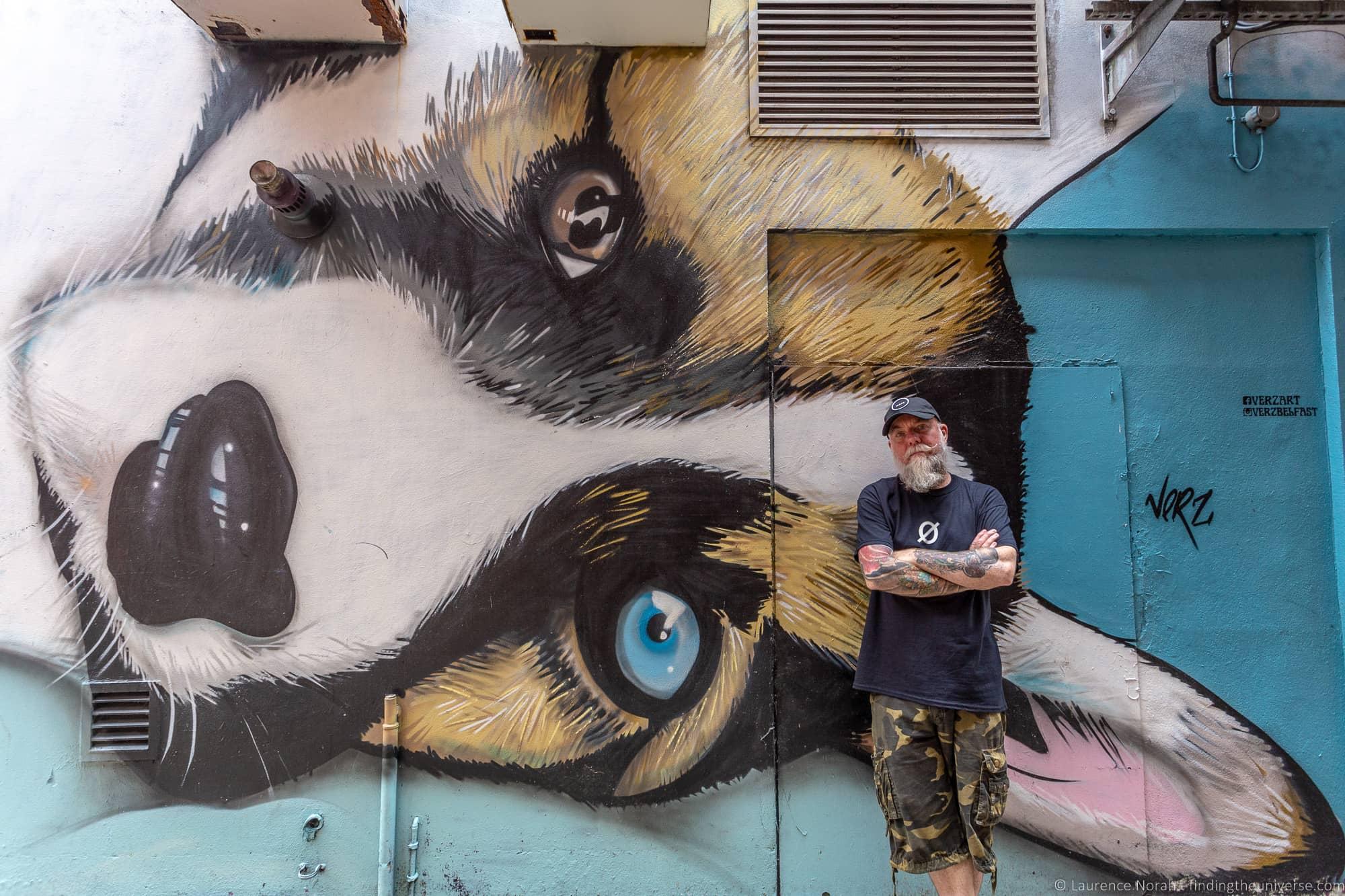 Belfast Street Art - Verz