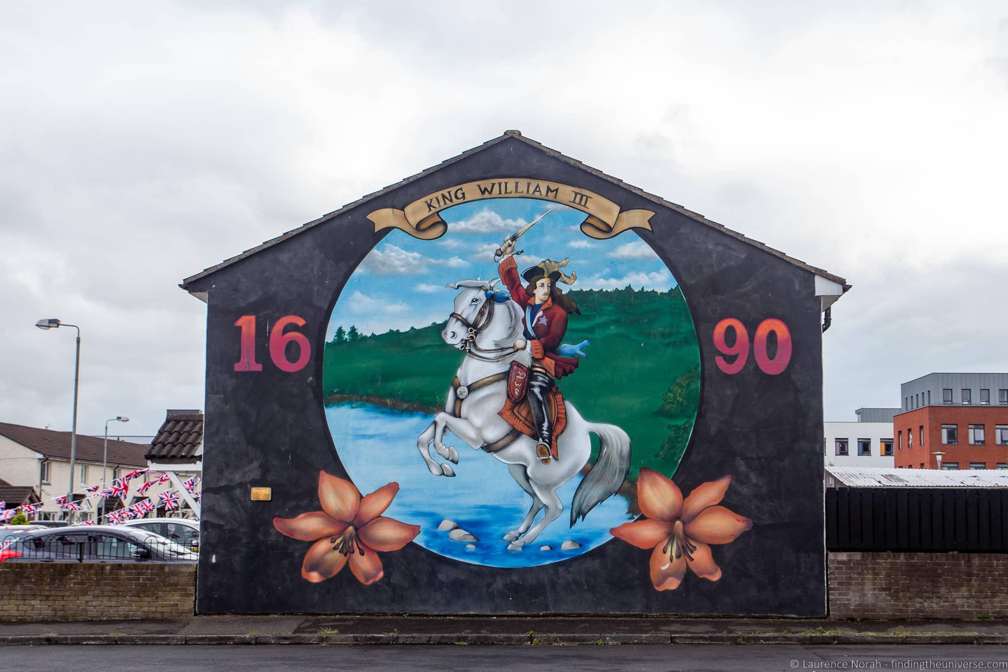 Belfast Street art mural