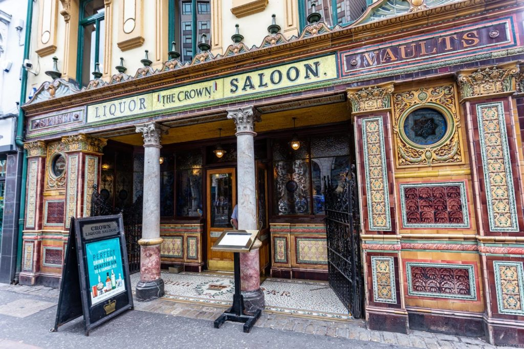 Crown Saloon Belfast