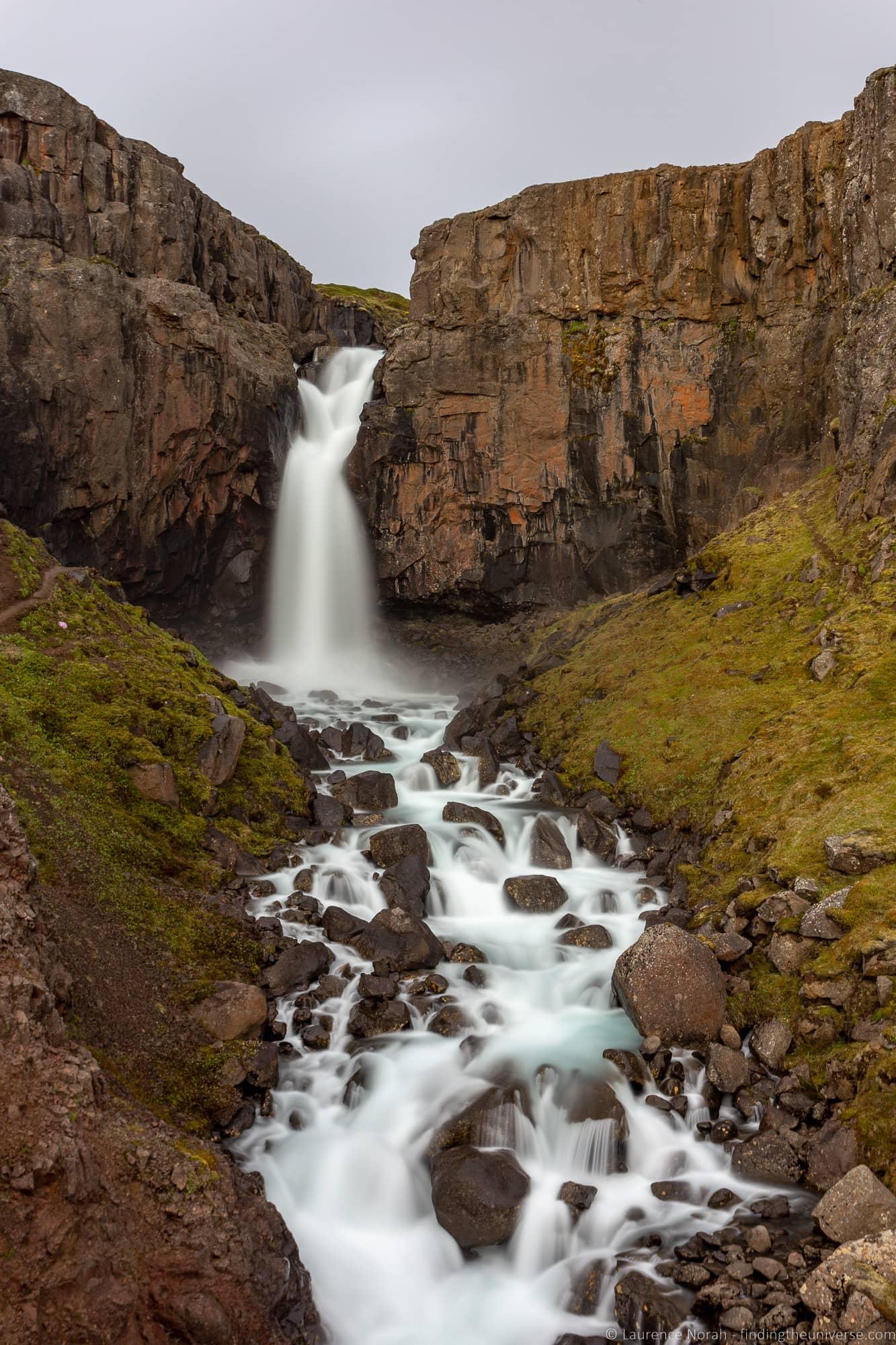 Fardagafoss Iceland