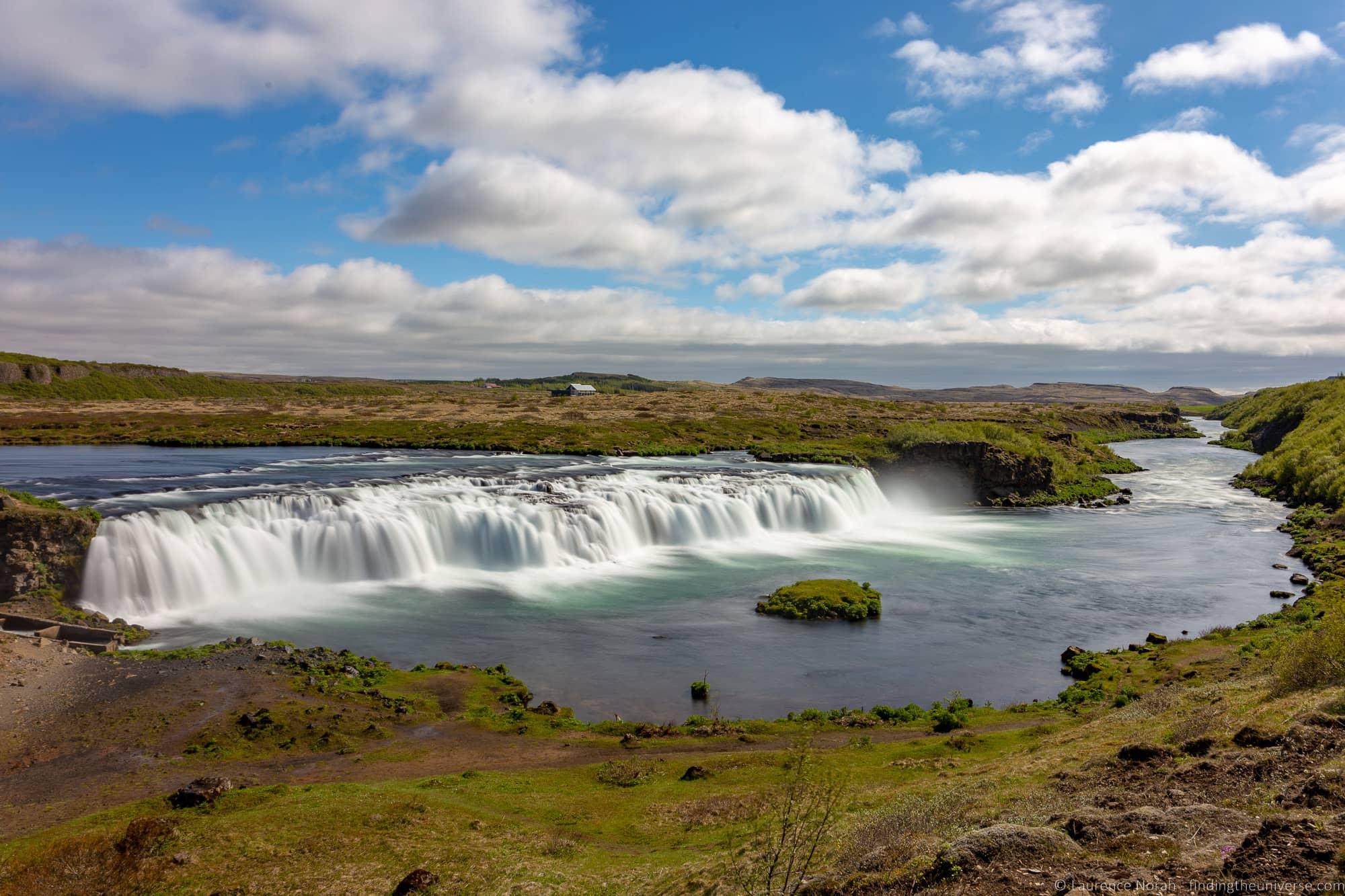 Faxafoss waterfall Iceland