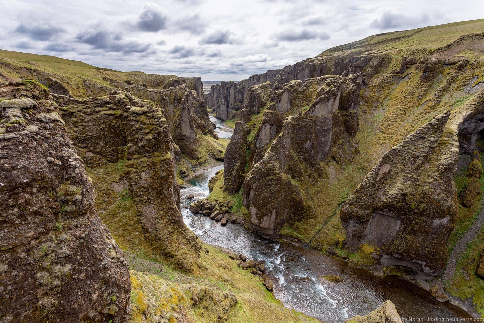 Iceland Ring Road itinerary: Fjaðrárgljúfur Canyon Iceland