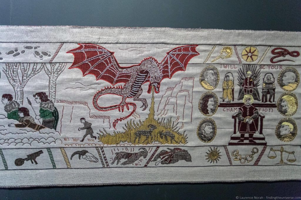 Game of Thrones tapestry Ulster Museum Belfast