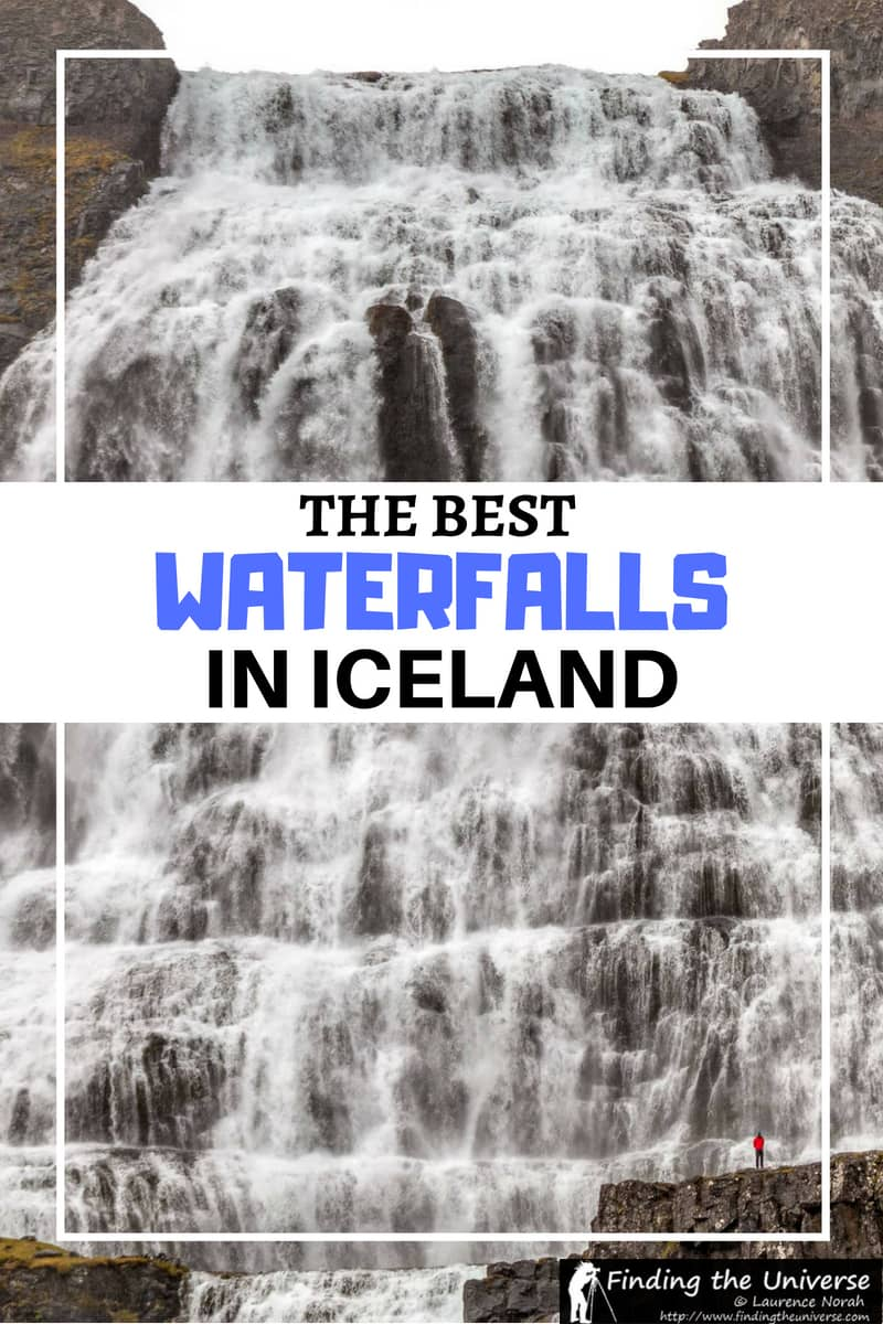 A guide to the best waterfalls in Iceland, covering the whole country. Includes a waterfalls of Iceland map, waterfall photography tips, and more!