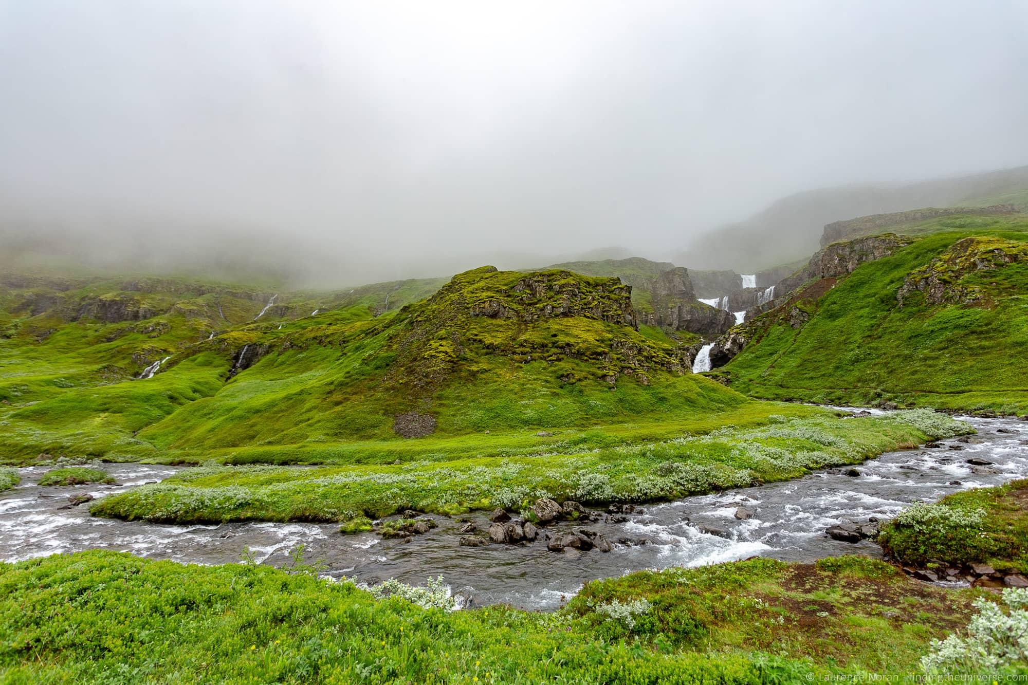 Klifbrekku waterfall Iceland