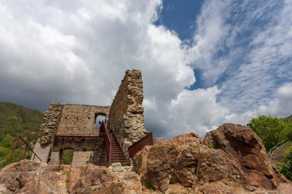 Ribes de Freser castle ruin