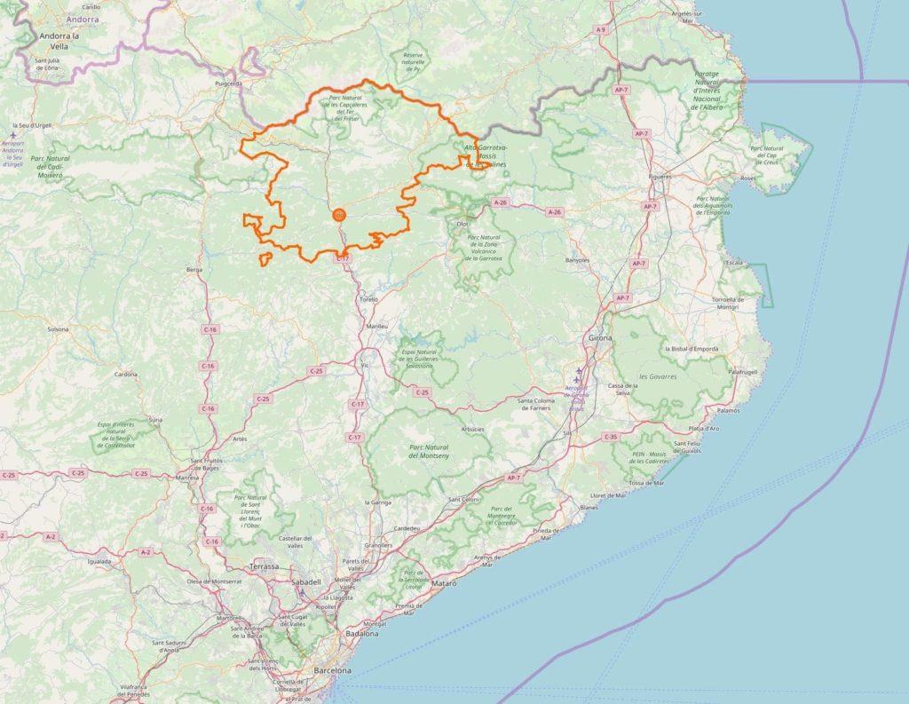 Ripolles Map