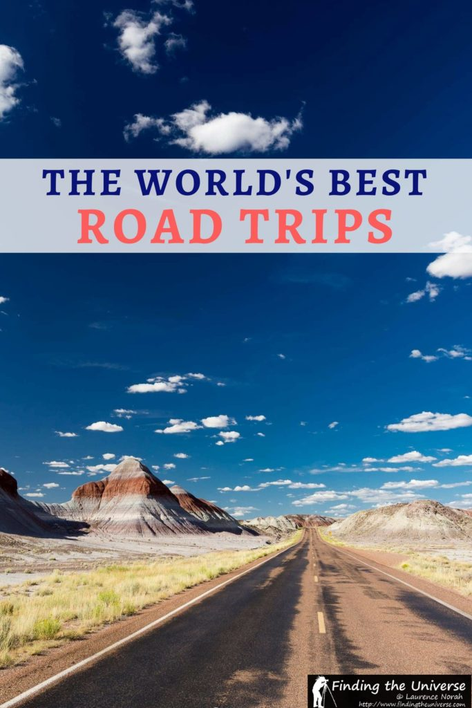 Looking to take a road trip? This post lists some of the world's best road trips, including Route 66, Iceland's Ring Road, Scotland's North Coast 500.. and more!