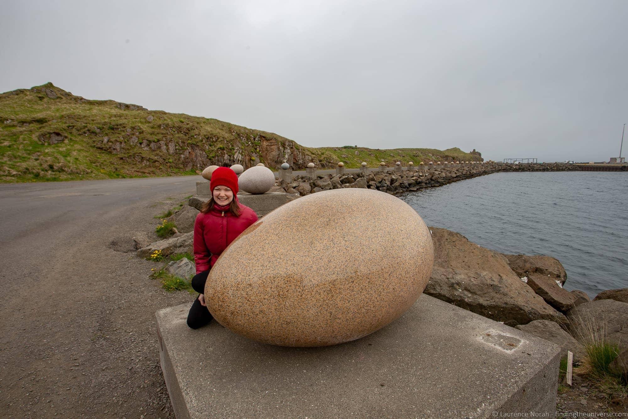 Stone eggs Iceland