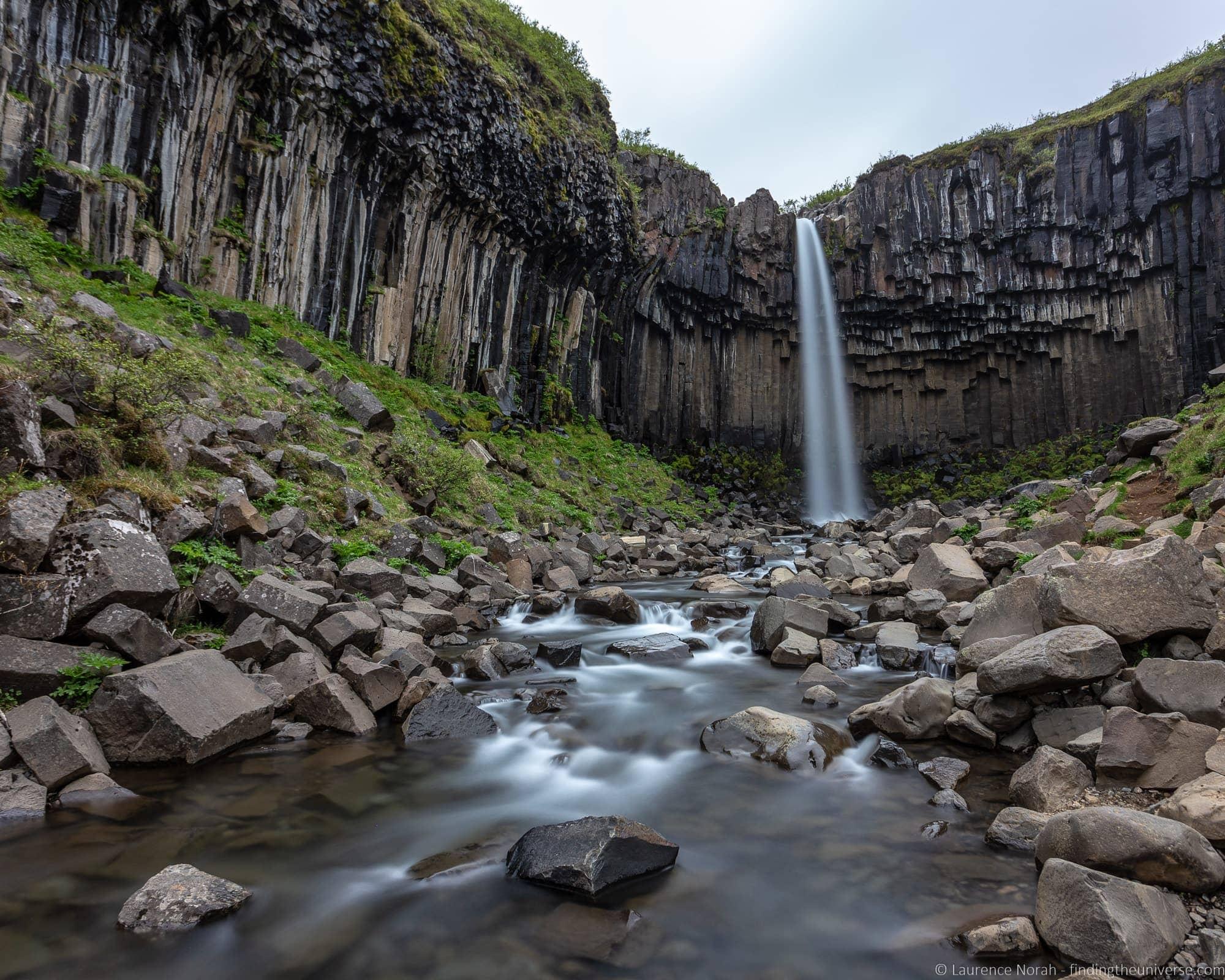 Svartifoss Falls Iceland