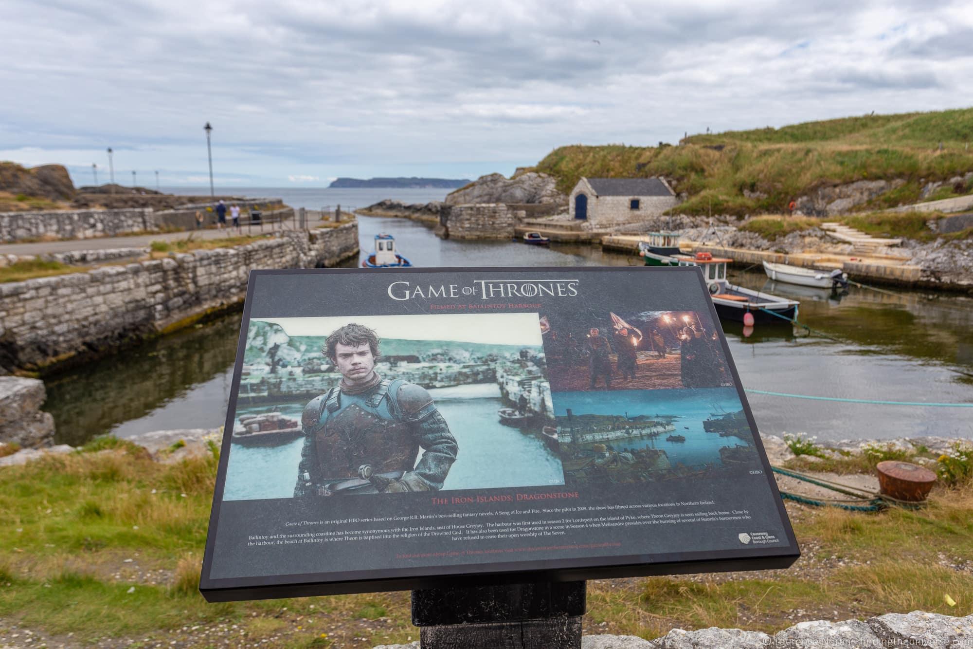 Ballintoy Harbour Ireland