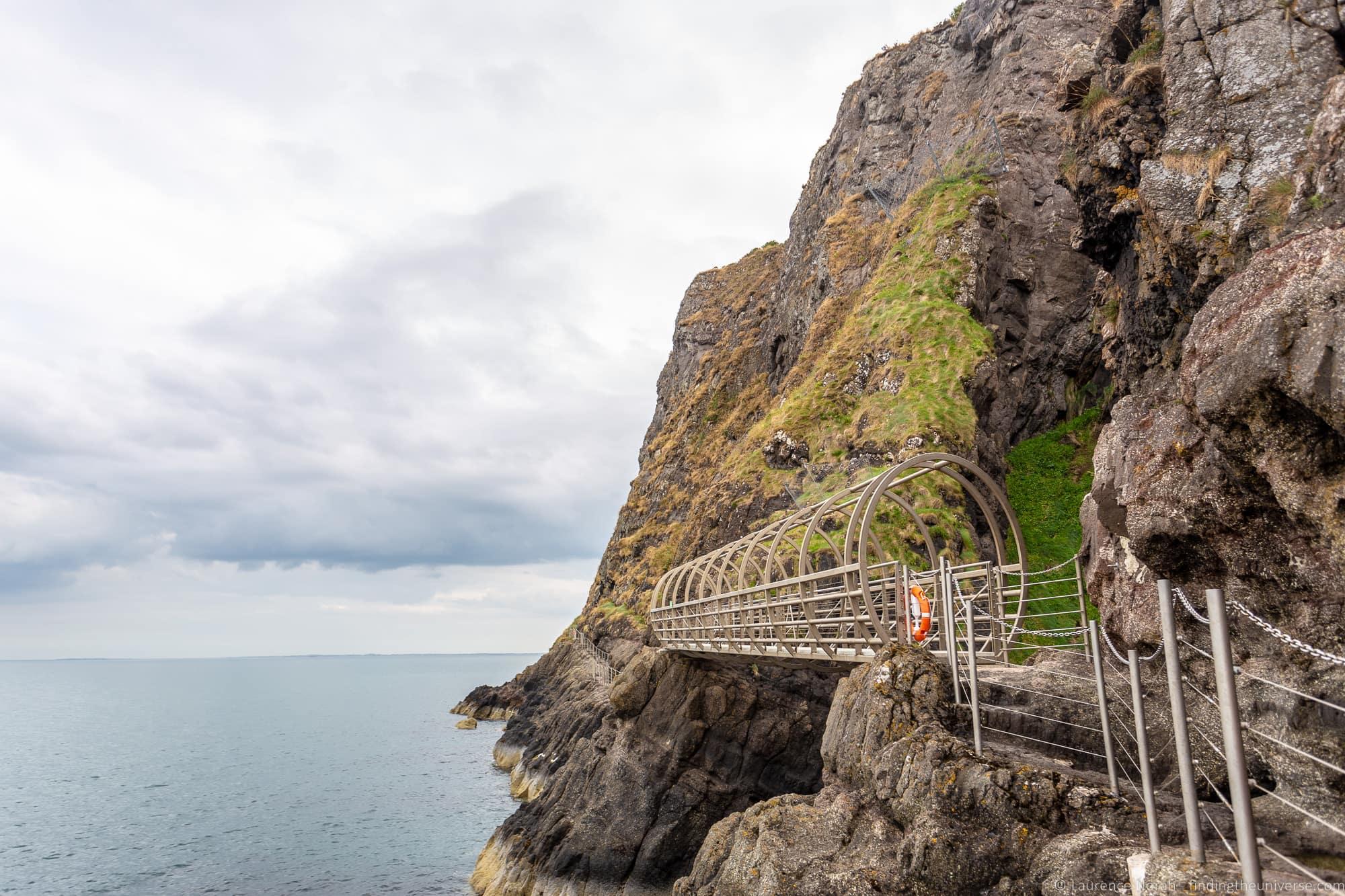 Causeway Coastal Route - Gobbins Cliff Path