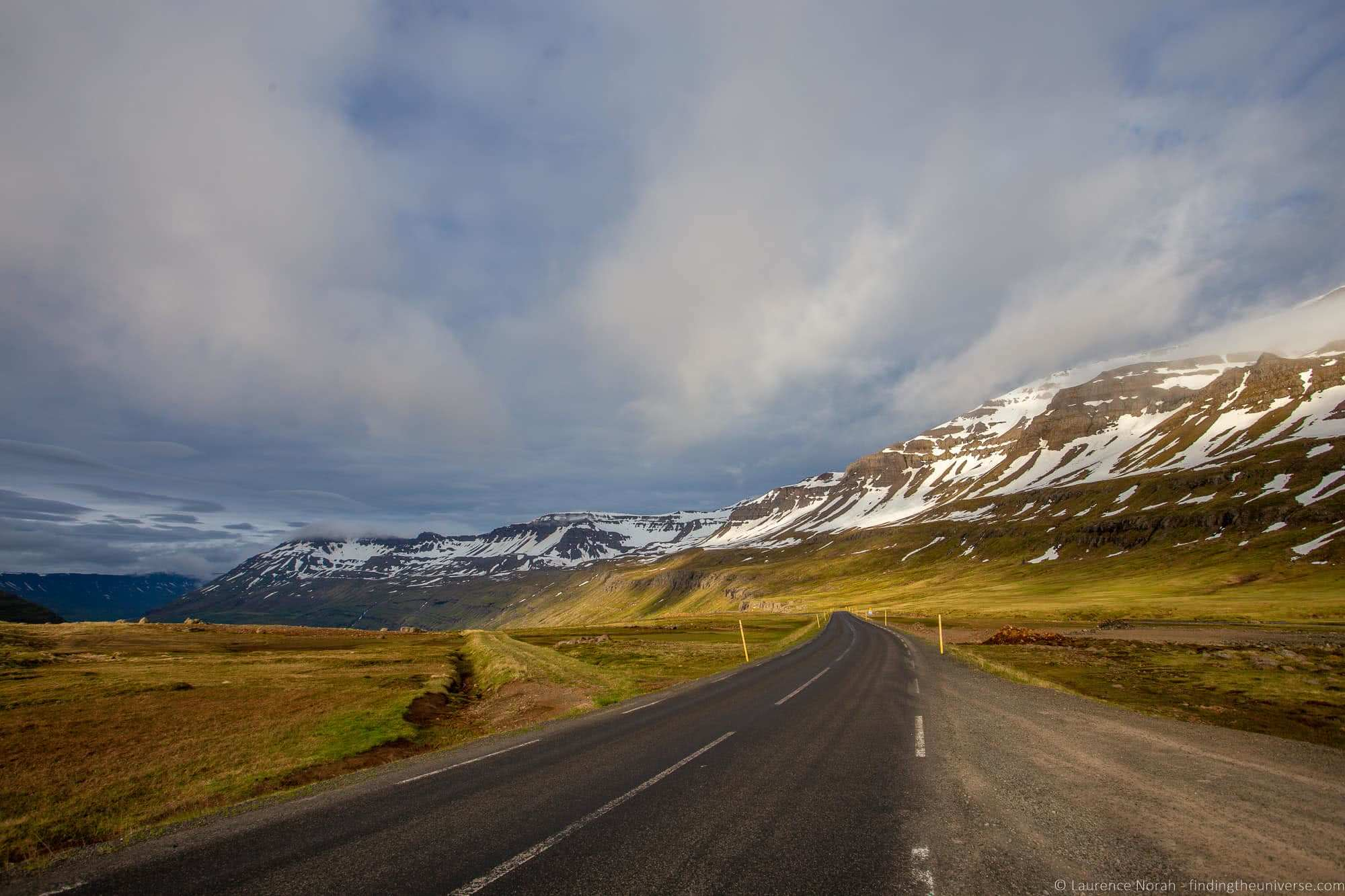 Iceland road_by_Laurence Norah