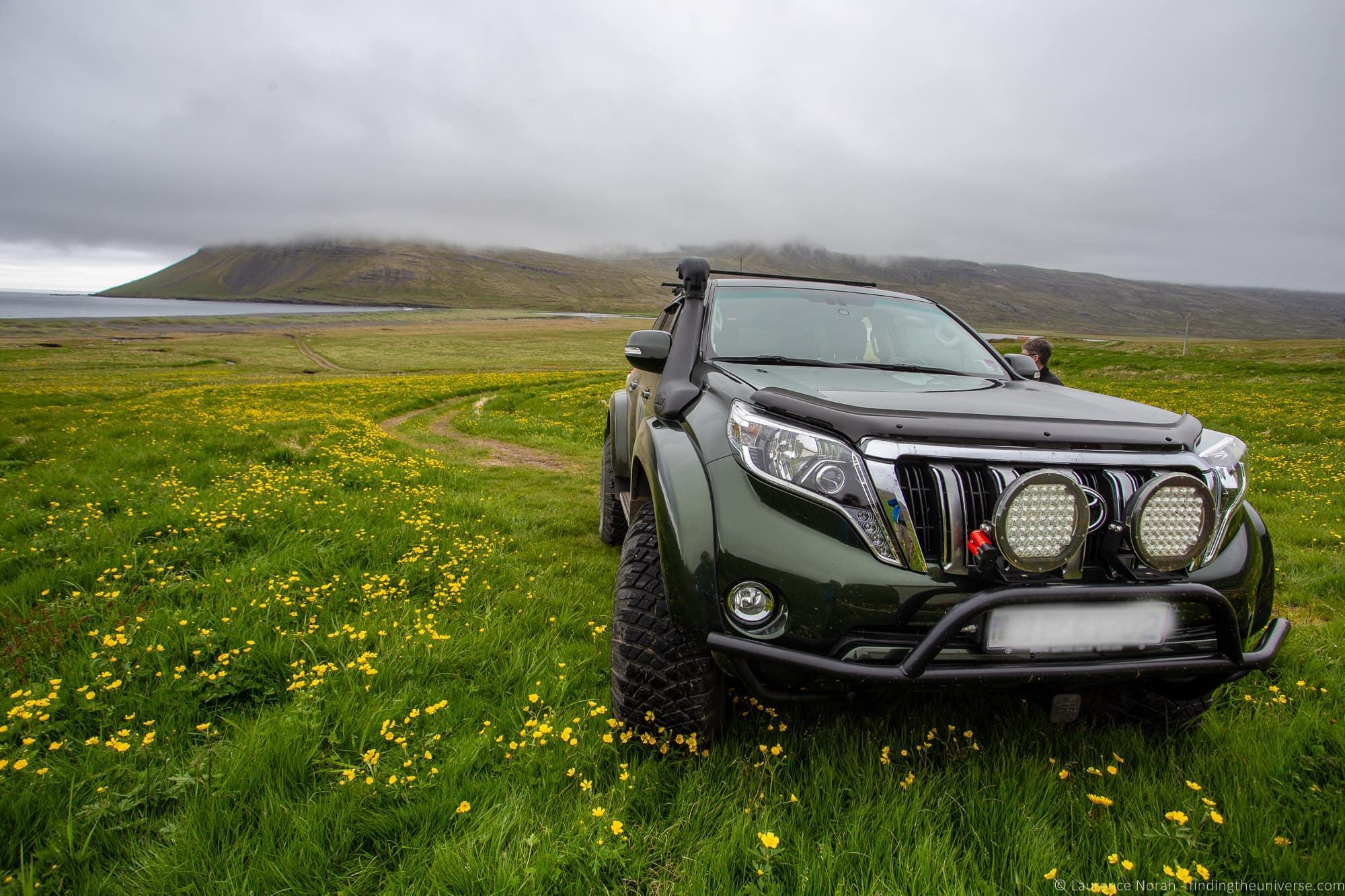 Iceland toyota