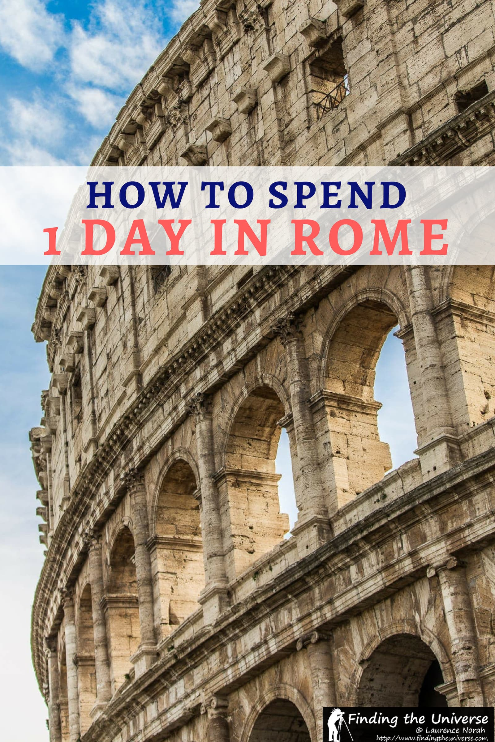 A detailed guide to spending a day in Rome, including a step by step itinerary, tips on getting around, suggested tours, and money saving tips!
