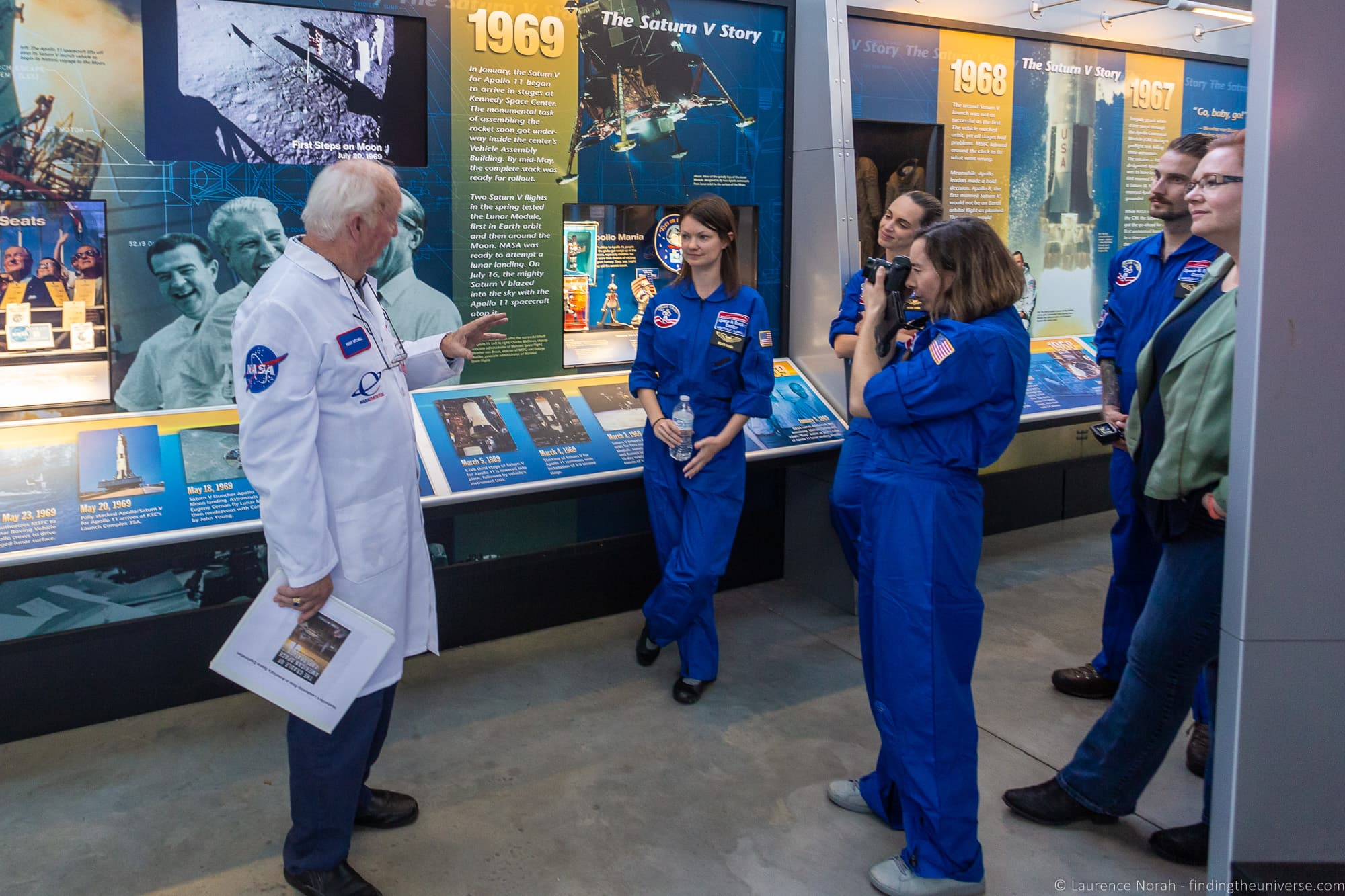 Docent tour Saturn V Hall US Space and Rocket Center
