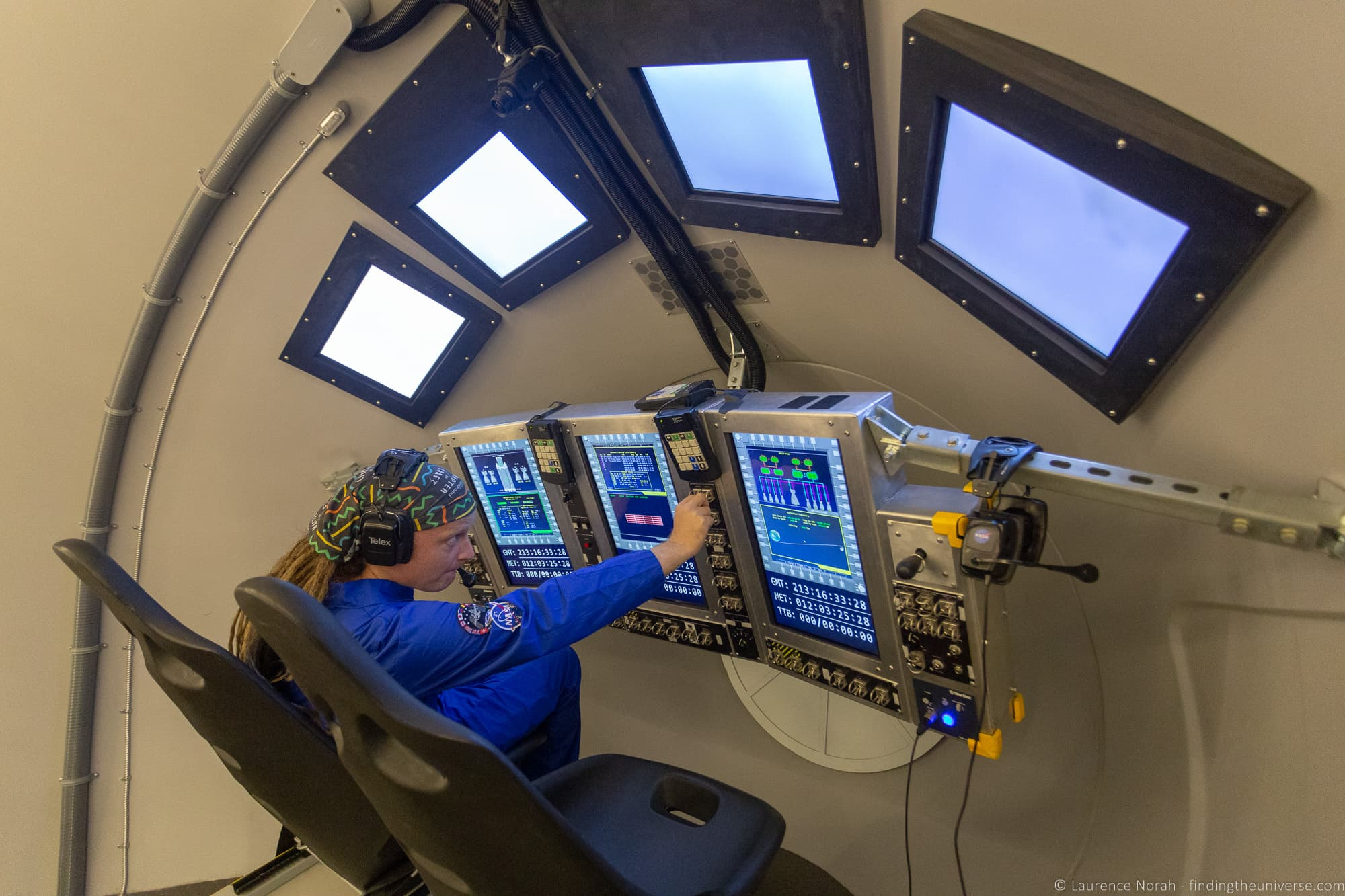Orion simulator Space Camp