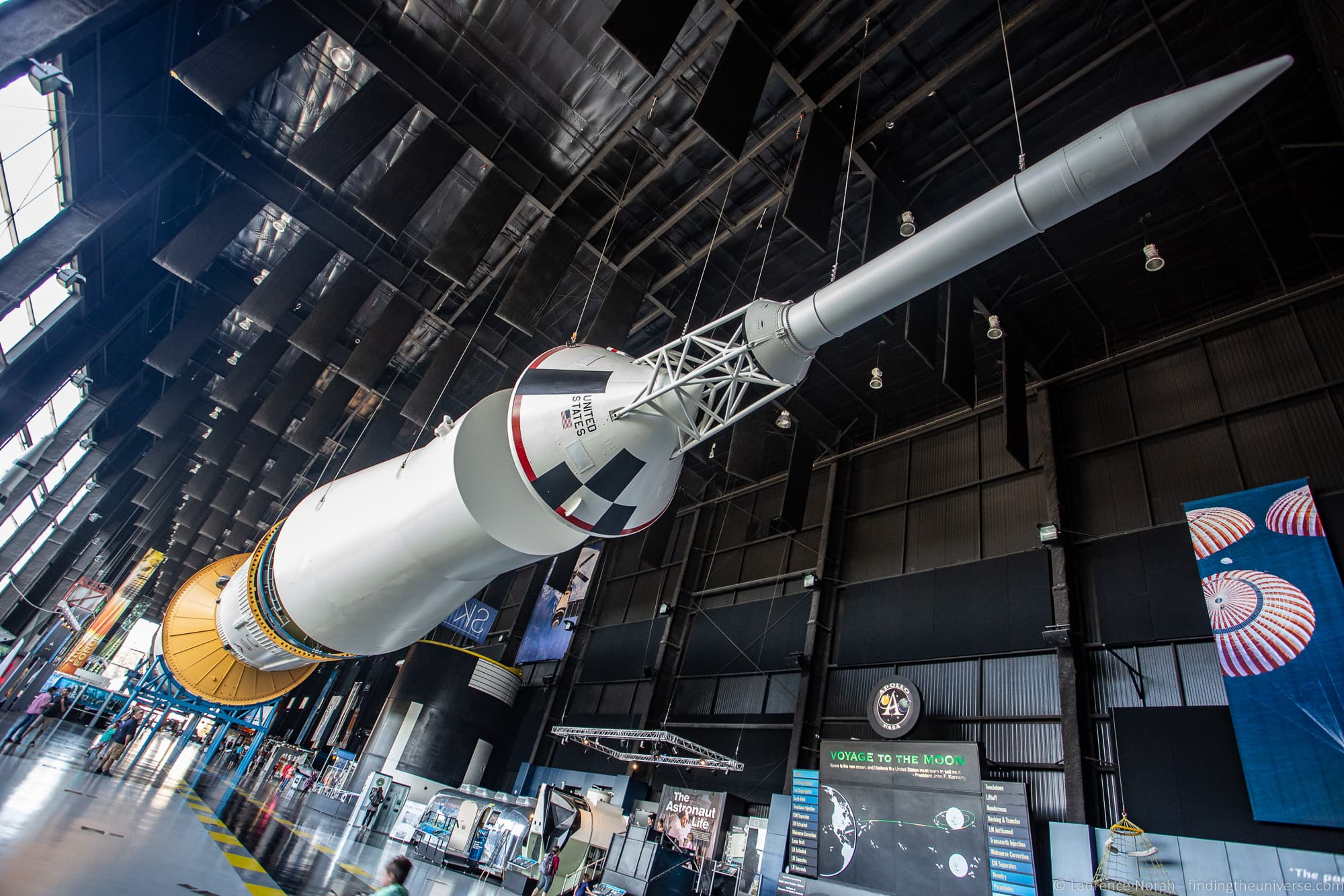 Saturn V Hall US Space and Rocket Center