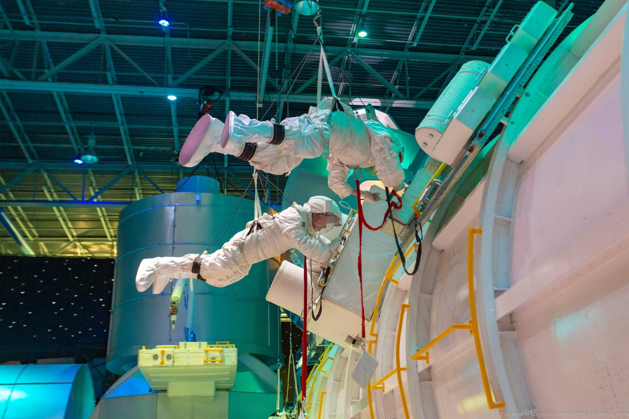 Space Camp EVA experience