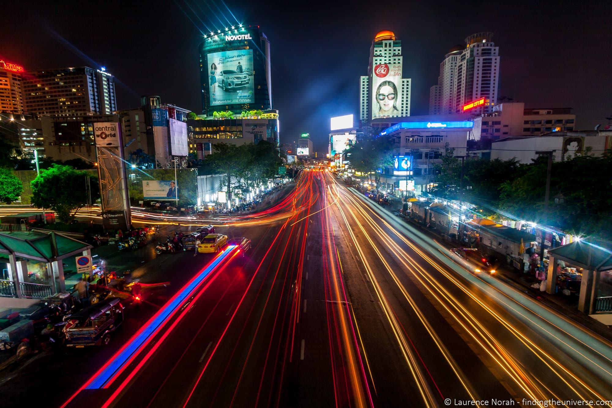 Bangkok Street Night