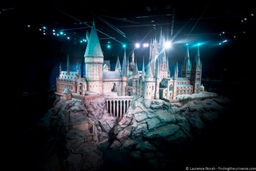 Hogwarts Castle Model - Warner Bros Studio Tour