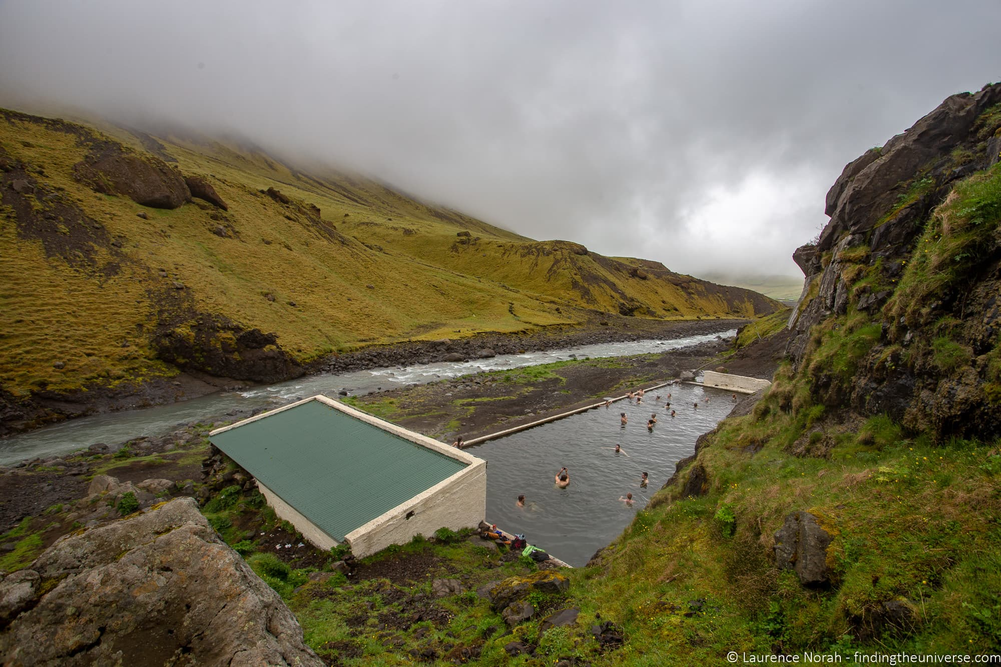 Outdoor hot tub free Iceland