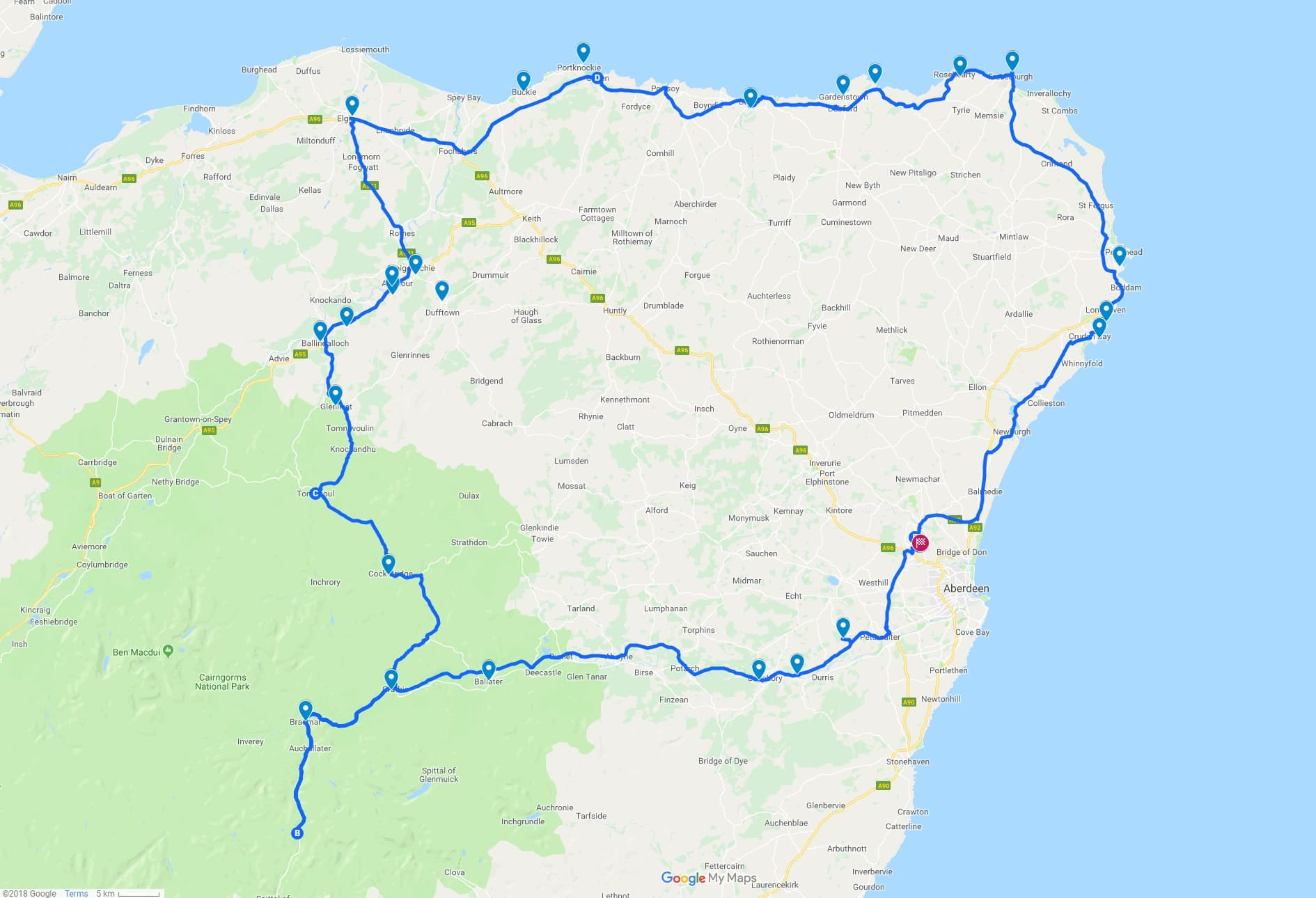 The North East 250: A 3 Day Scotland Road Trip Itinerary