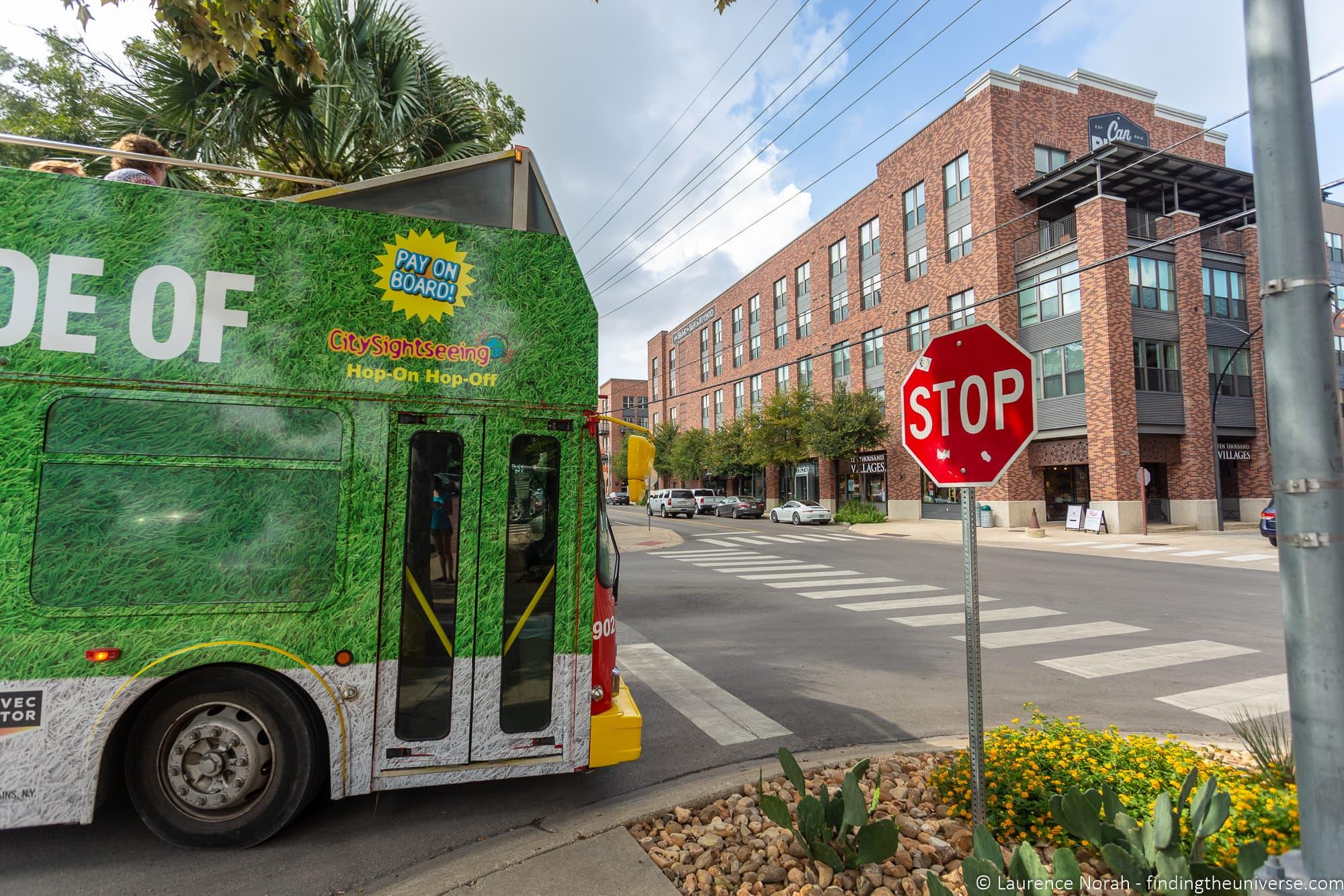 Citysightseeing Bus San Antonio