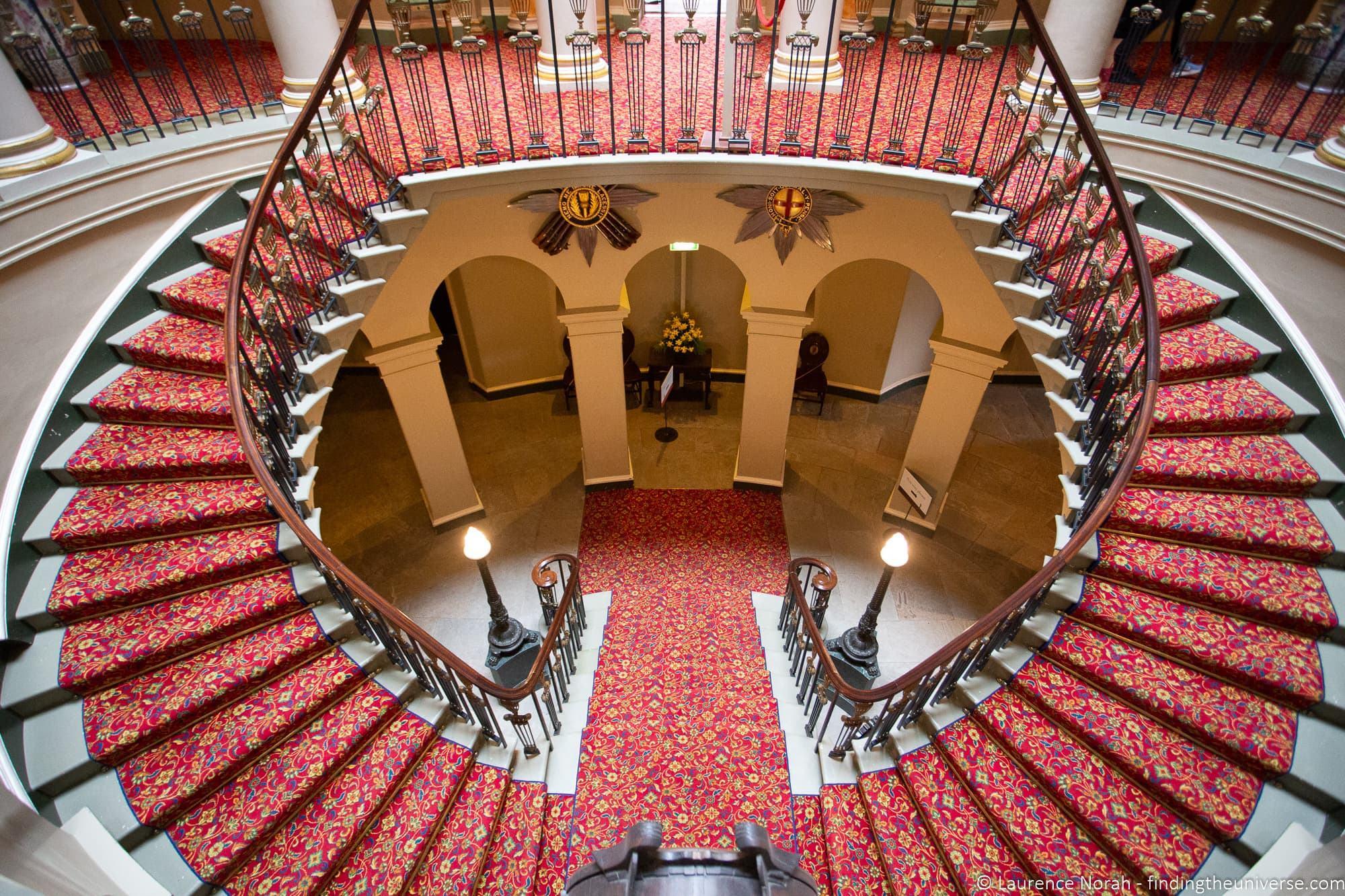 Culzean Castle Staircase