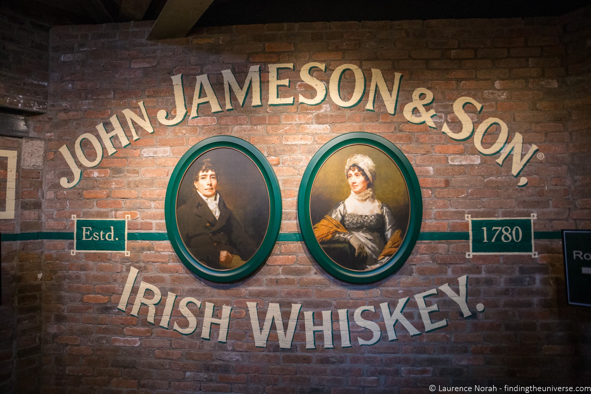 Jameson Distillery Dublin
