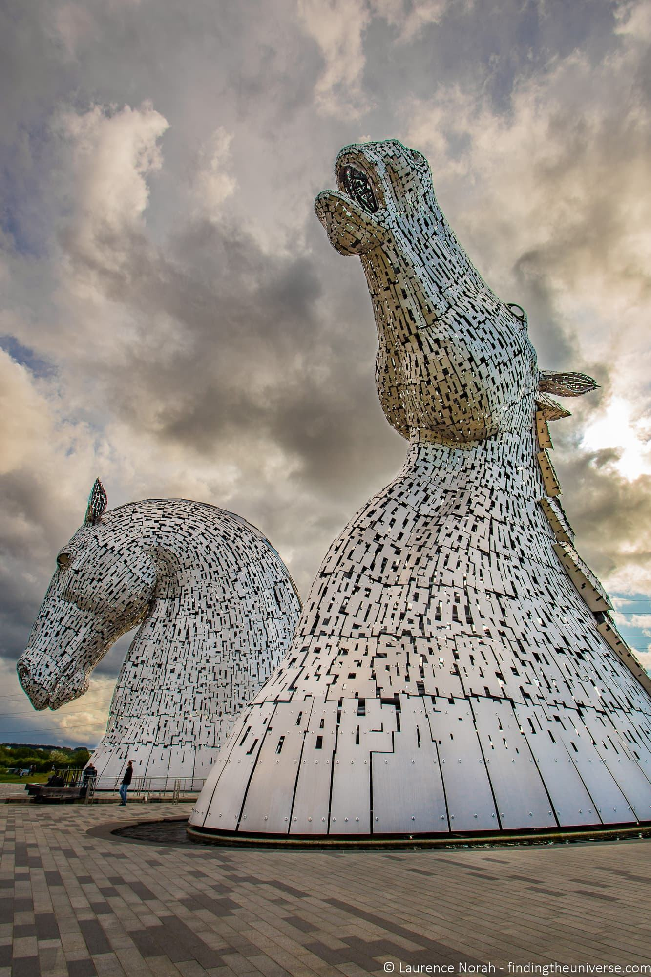 Kelpies Statues Scotland