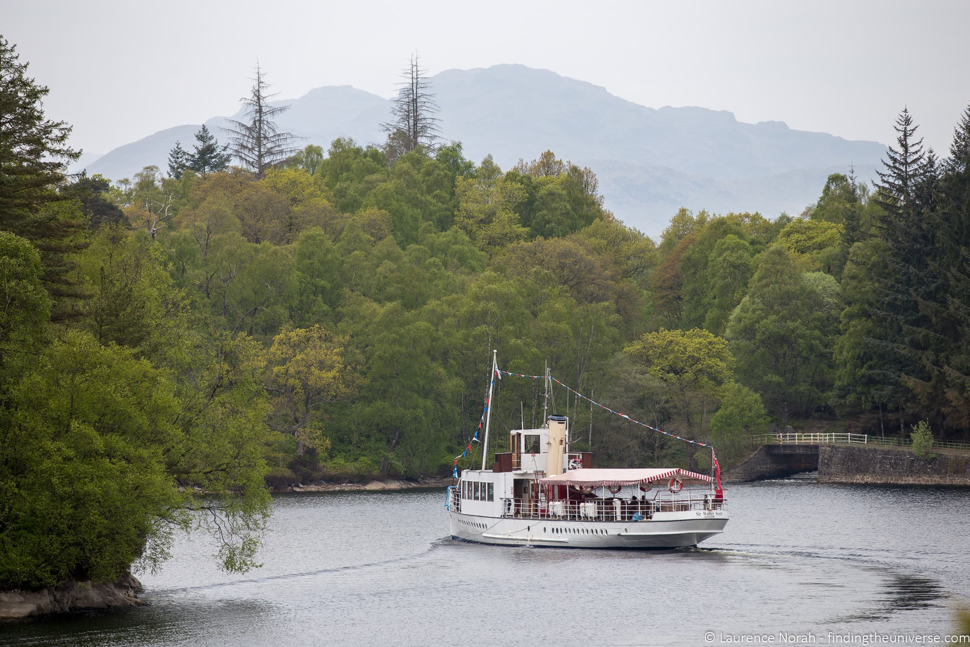 Sir Walter Scott Cruise Loch Katrine