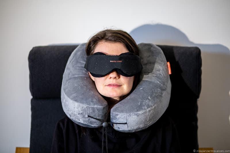Manta Sleep Mask and Pillow