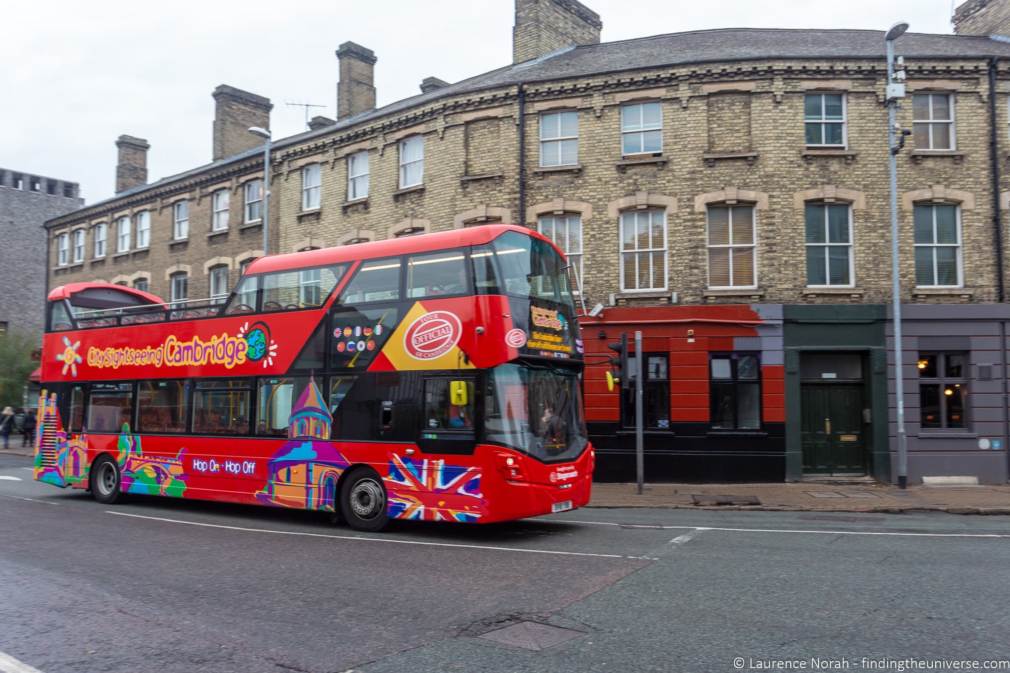 Cambridge Sightseeing bus