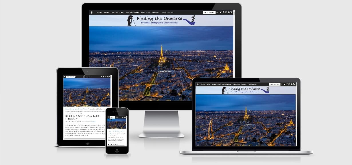 Device screenshots Paris